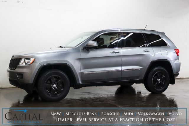 2013 Jeep Grand Cherokee Laredo 4x4 Sport Utility with Blacked Out Wheels and UConnect Audio w/Aux Input