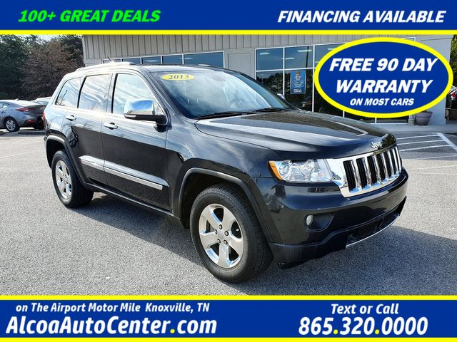 2013 Jeep Grand Cherokee Limited 3.6L V6 4X4 w/Leather/Sunroof/Navigation