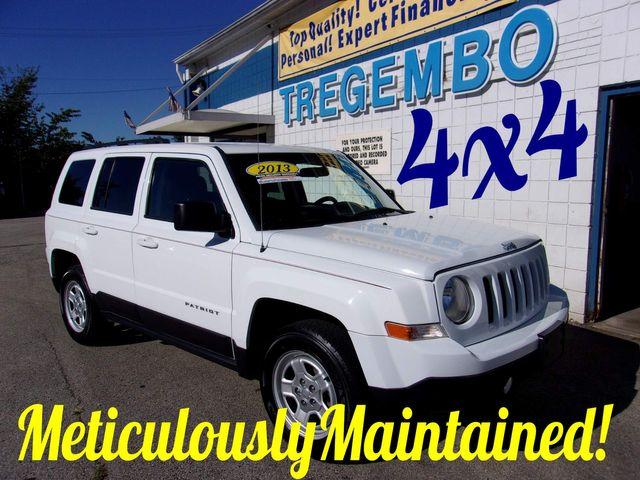 2013 Jeep Patriot 4X4 Sport in Bentleyville, Pennsylvania 15314