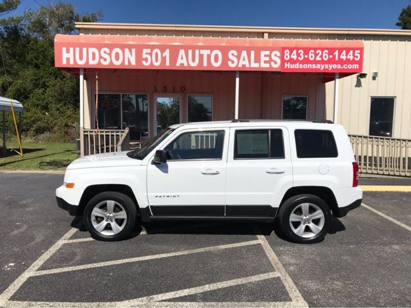 2013 Jeep Patriot Latitude | Myrtle Beach, South Carolina | Hudson Auto Sales in Myrtle Beach South Carolina