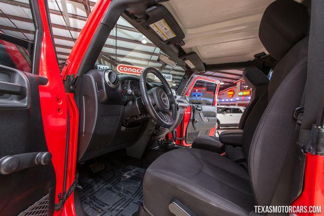 2013 Jeep Wrangler Sport 4X4 in Addison Texas, 75001