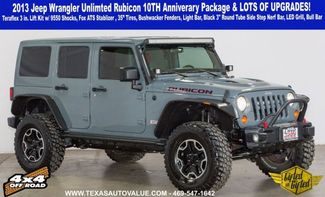 2013 Jeep Wrangler Unlimited Rubicon Lifted&Gifted Lots of Upgrades 10TH Anniversary Ed in Dallas, TX 75001
