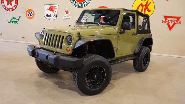 2013 Jeep Wrangler Sport 4X4 AUTO,LIFTED,LED'S,SOFT TOP,CLOTH,16K
