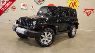 2013 Jeep Wrangler Sahara 4X4 AUTO,REMOTE START,NAV,39K,WE FINANCE in Carrollton, TX 75006