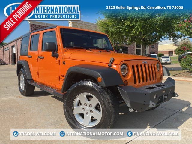 2013 Jeep Wrangler Unlimited Sport ONE OWNER