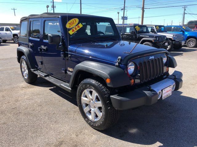 2013 Jeep Wrangler 4X4 Unlimited Sahara in Marble Falls, TX 78654