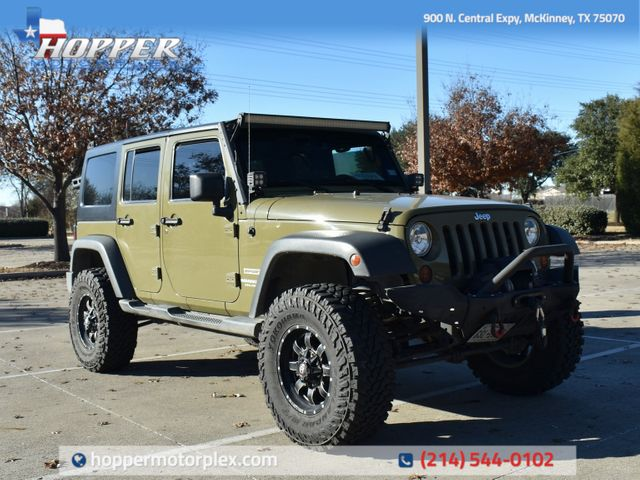 2013 Jeep Wrangler Unlimited Sport Custom Lift/Wheels and tires
