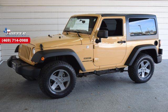 2013 Jeep Wrangler Sport in McKinney Texas, 75070