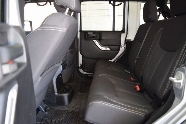 2013 Jeep Wrangler Unlimited Rubicon LIFTED TIRES AND WHEELS in McKinney Texas, 75070