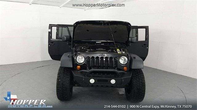 2013 Jeep Wrangler Unlimited Sahara LIFTED W/CUSTOM TIRES AND WHEELS in McKinney Texas, 75070