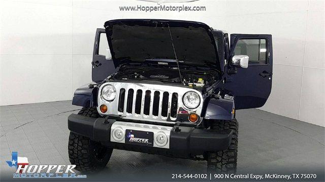 2013 Jeep Wrangler Unlimited Sahara Navigation LIFTED CUSTOM WHEEL... in McKinney, Texas 75070