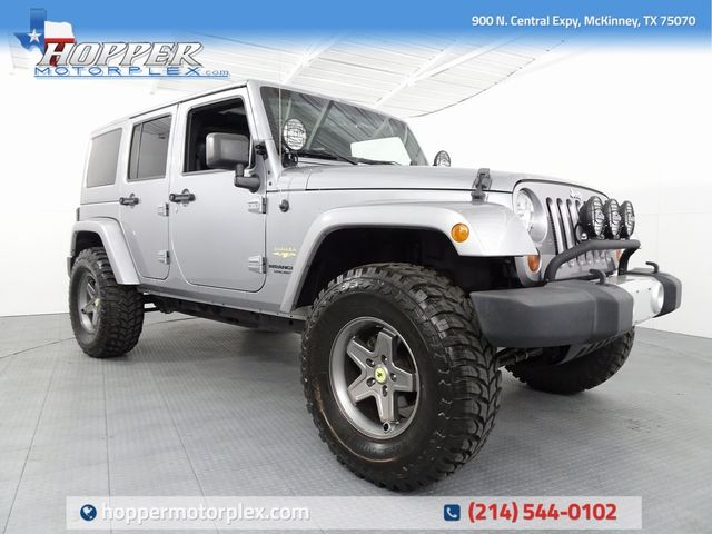 2013 Jeep Wrangler Unlimited Sahara LIFT/CUSTOM WHEELS AND TIRES