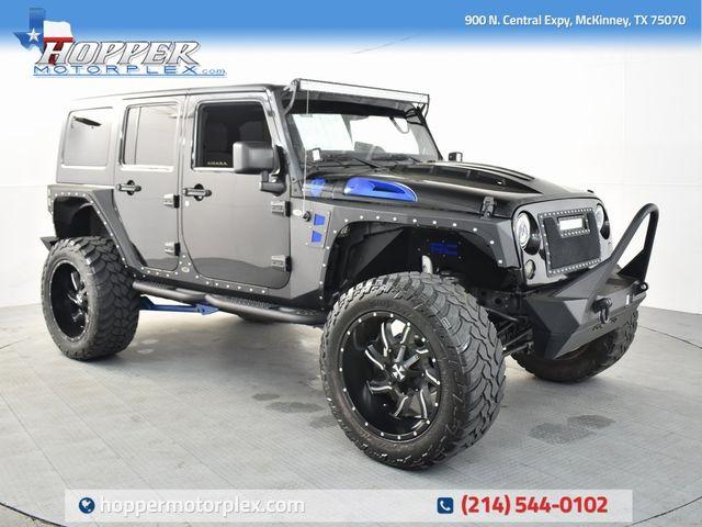 2013 Jeep Wrangler Unlimited Sahara CUSTOM LIFT/WHEELS AND TIRES