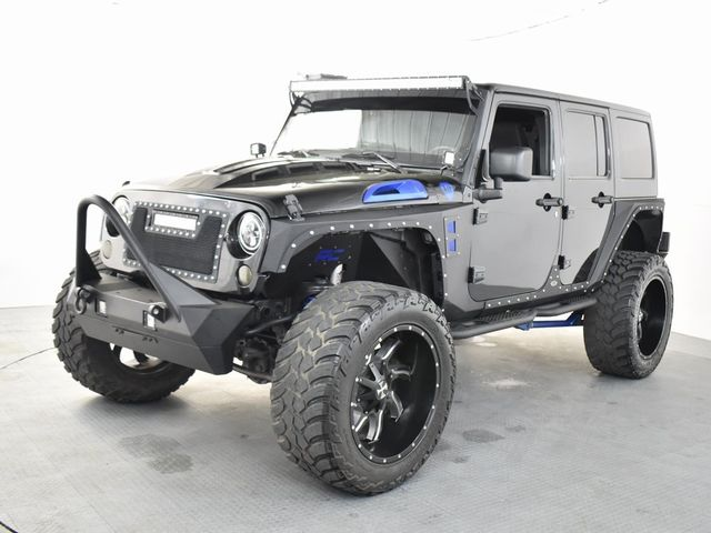 2013 Jeep Wrangler Unlimited Sahara CUSTOM LIFT/WHEELS AND TIRES in McKinney, Texas 75070