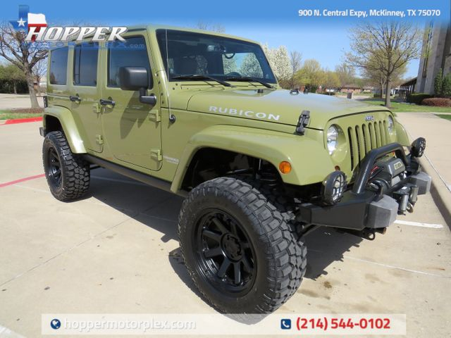 2013 Jeep Wrangler Unlimited Rubicon NEW LIFT/CUSTOM WHEELS AND TIRES