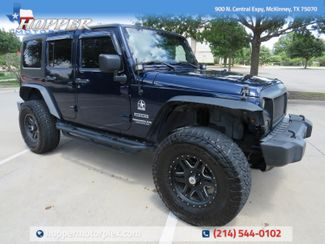 2013 Jeep Wrangler Unlimited Sport Custom Lift, Wheels and Tires in McKinney, Texas 75070