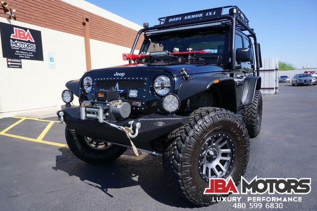 2013 Jeep Wrangler Rubicon 4x4 Hardtop SUV 4WD CUSTOM LIFTED 1 OWNER   MESA, AZ   JBA MOTORS in Mesa AZ