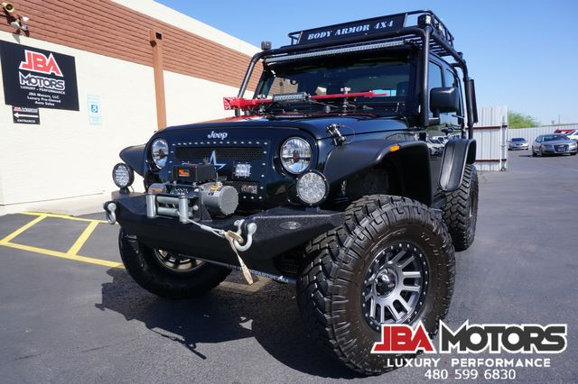 2013 Jeep Wrangler Rubicon 4x4 Hardtop SUV 4WD CUSTOM LIFTED 1 OWNER | MESA, AZ | JBA MOTORS in Mesa AZ