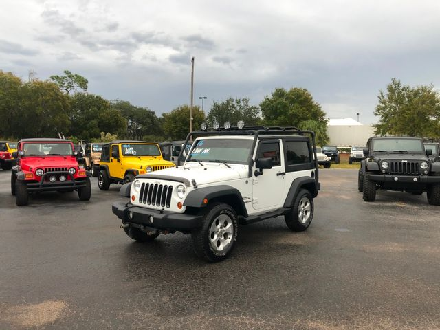 2013 Jeep Wrangler Sport in Riverview, FL 33578
