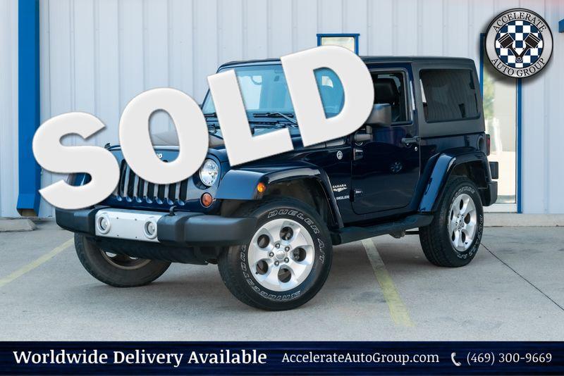2013 Jeep Wrangler Sahara in Rowlett Texas