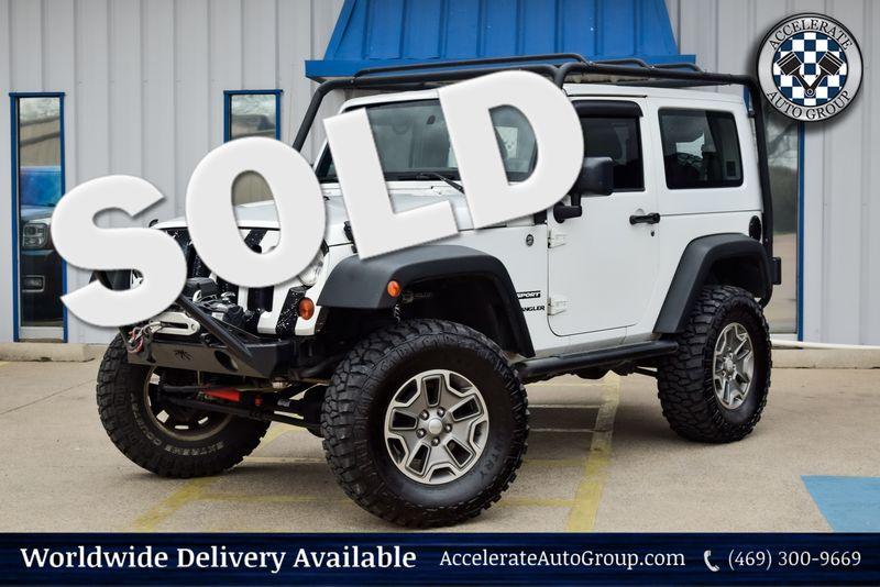 2013 Jeep Wrangler Sport - Custom in Rowlett Texas