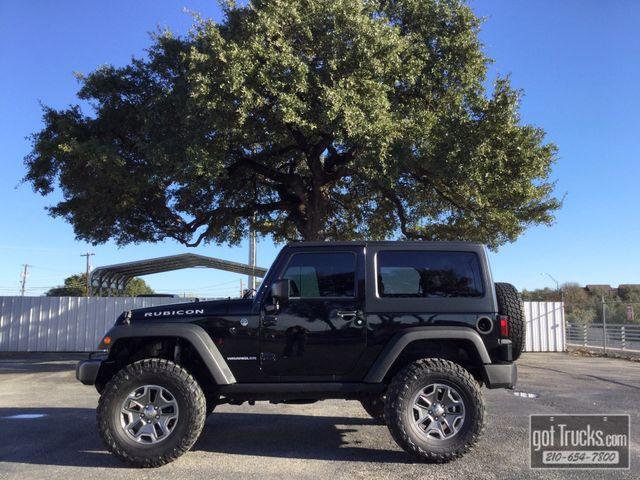 2013 Jeep Wrangler Rubicon 3.6L V6 4X4