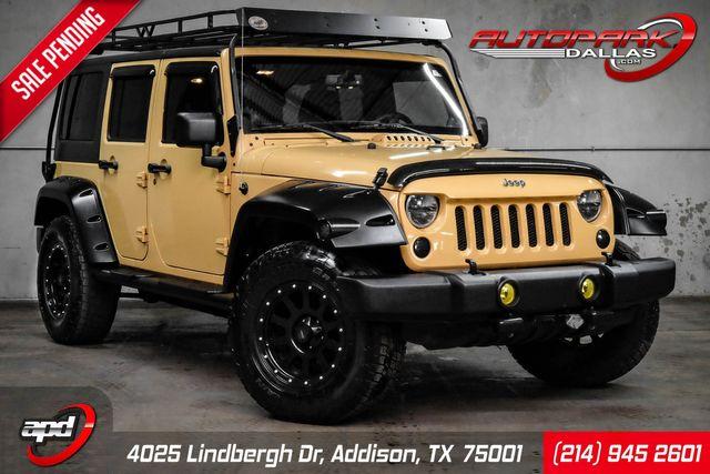 2013 Jeep Wrangler Unlimited Sport w/ Upgrades