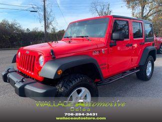 2013 Jeep Wrangler Unlimited Sport Manual 4x4 in Augusta, Georgia 30907