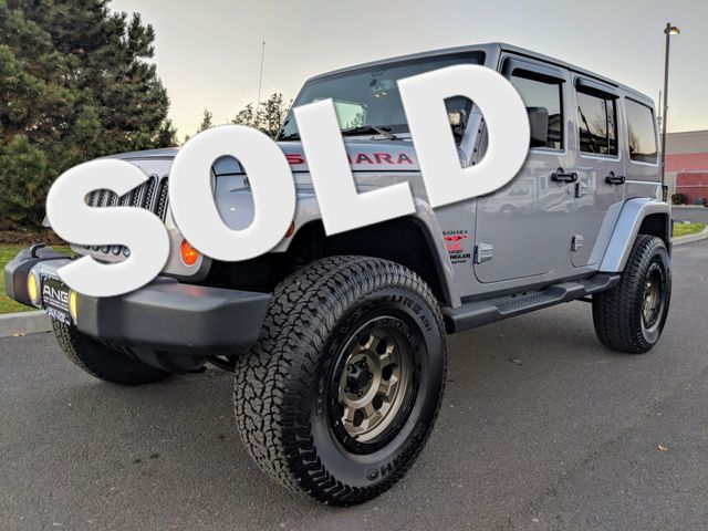 2013 Jeep Wrangler Unlimited Sahara Bend, Oregon