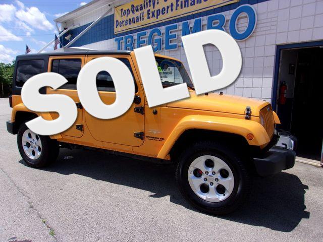 2013 Jeep Wrangler Unlimited Sahara in Bentleyville, Pennsylvania 15314