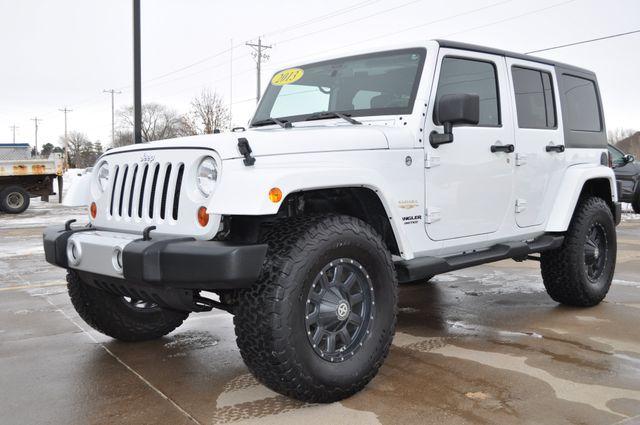 2013 Jeep Wrangler Unlimited Sahara in Bettendorf, Iowa 52722