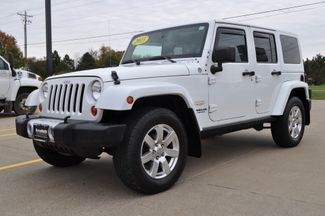 2013 Jeep Wrangler Unlimited Sahara in Bettendorf/Davenport, Iowa 52722