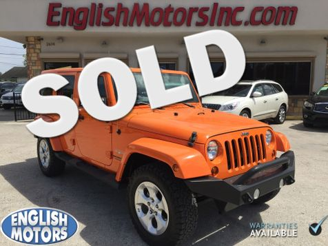 2013 Jeep Wrangler Unlimited Sahara in Brownsville, TX