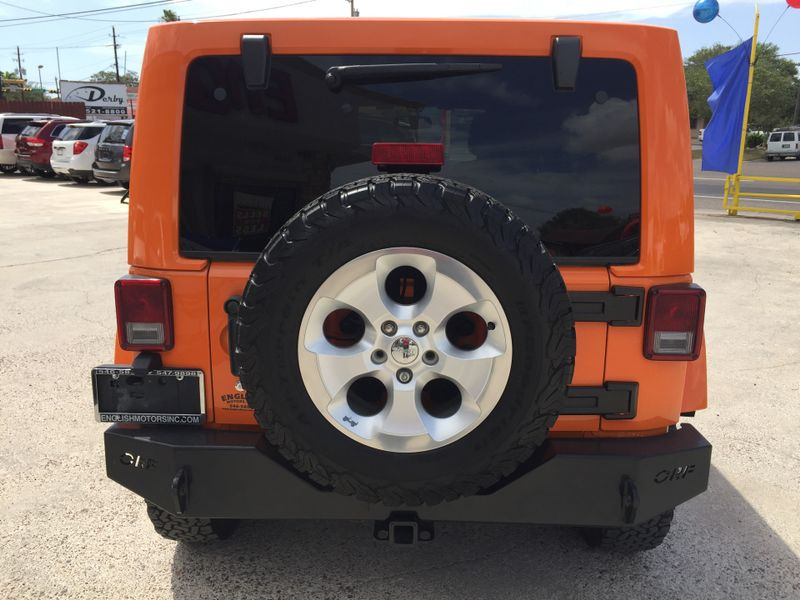 2013 Jeep Wrangler Unlimited Sahara  Brownsville TX  English Motors  in Brownsville, TX