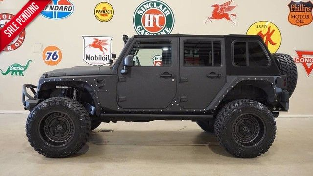 2013 Jeep Wrangler Unlimited Sport 4X4 KEVLAR,FMJ,LIFTED,NAV,HTD LTH,KICKER ...