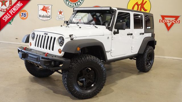 2013 Jeep Wrangler Unlimited Sport 4X4 LIFTED,BUMPERS,LED'S,HTD LTH,45K