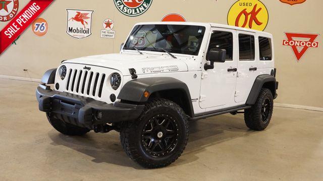 2013 Jeep Wrangler Unlimited Moab 4X4 BUMPERS,LED'S,NAV,HTD LTH,51K