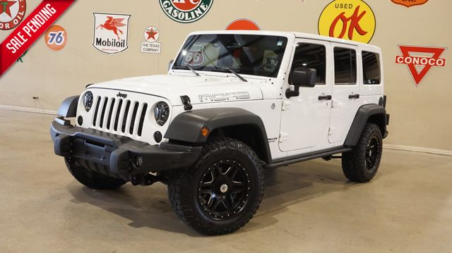 2013 Jeep Wrangler Unlimited Moab 4X4 BUMPERS,LED'S,NAV,HTD LTH,51K in Carrollton, TX 75006