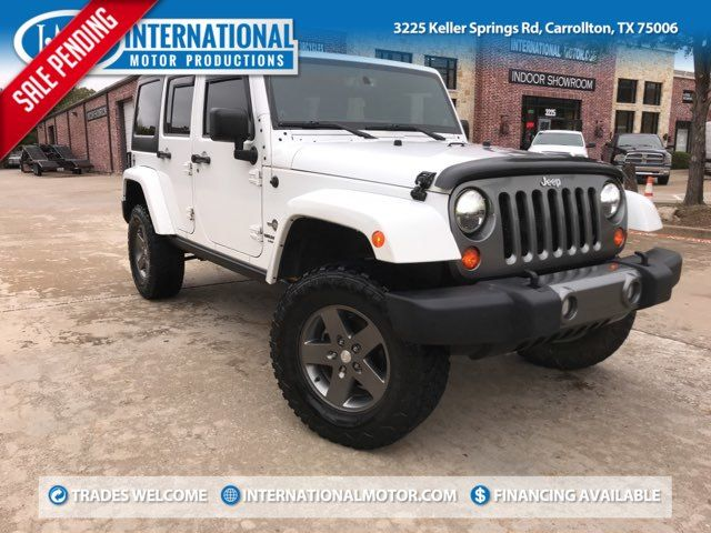 2013 Jeep Wrangler Unlimited Freedom Edition in Carrollton, TX 75006