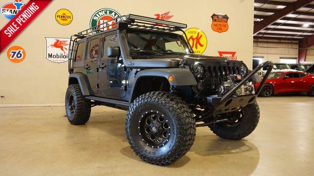 2013 Jeep Wrangler Unlimited Moab 4X4 6 SPD,LIFTED,BUMPERS,NAV,94K in Carrollton, TX 75006