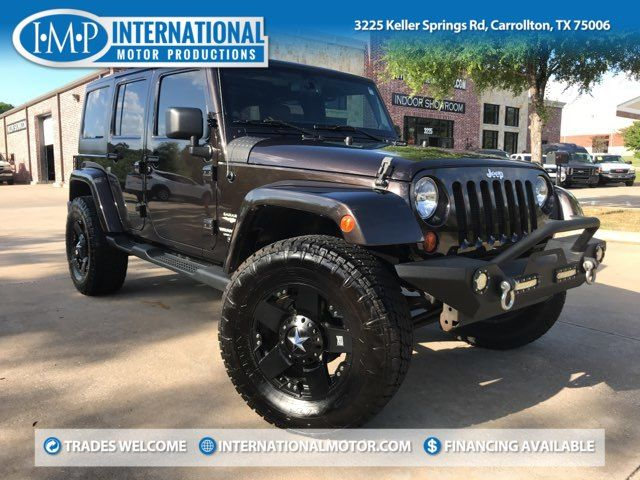 2013 Jeep Wrangler Unlimited Sahara ONE OWNER