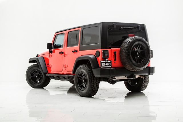 2013 Jeep Wrangler Unlimited Sport With Upgrades in Carrollton, TX 75006