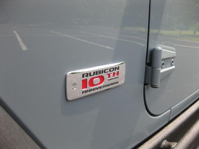 2013 Jeep Wrangler Unlimited Rubicon 10th Anniversary Conshohocken, Pennsylvania 12