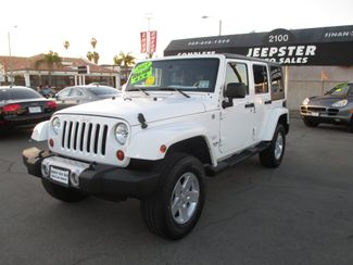 2013 Jeep Wrangler Unlimited Sahara 4X4 in Costa Mesa California, 92627