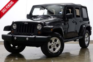 2013 Jeep Wrangler Unlimited Sahara in Dallas Texas, 75220