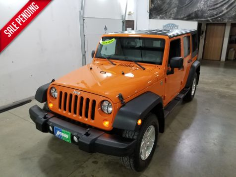 2013 Jeep Wrangler Unlimited Sport 4x4 in Dickinson, ND