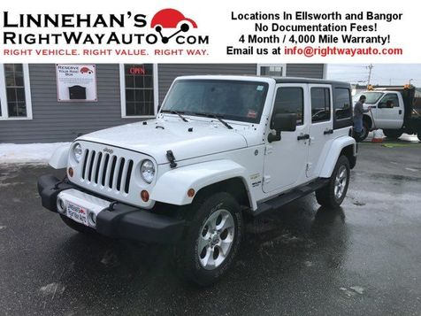 2013 Jeep Wrangler Unlimited Sahara in Bangor