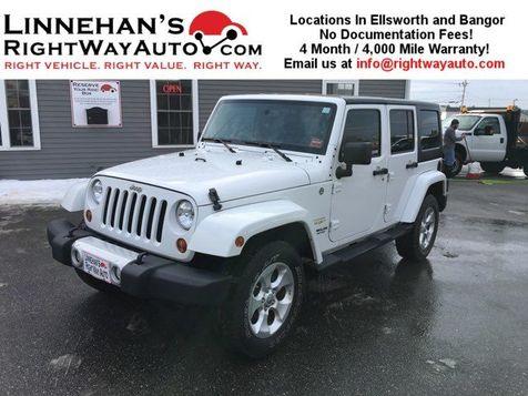 2013 Jeep Wrangler Unlimited Sahara in Bangor