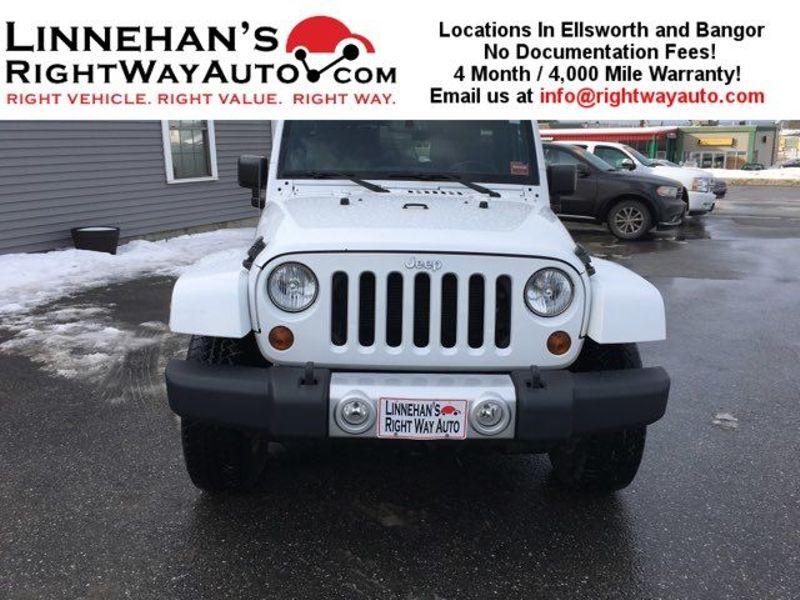 2013 Jeep Wrangler Unlimited Sahara  in Bangor, ME