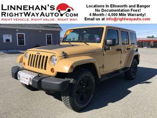 2013 Jeep Wrangler Unlimited in Bangor, ME